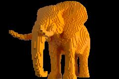 3d printing protorype - lowrez animals