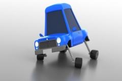 cartoon car rig #1