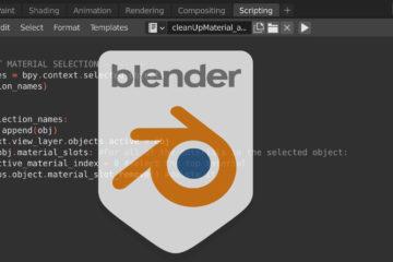 Blender python script